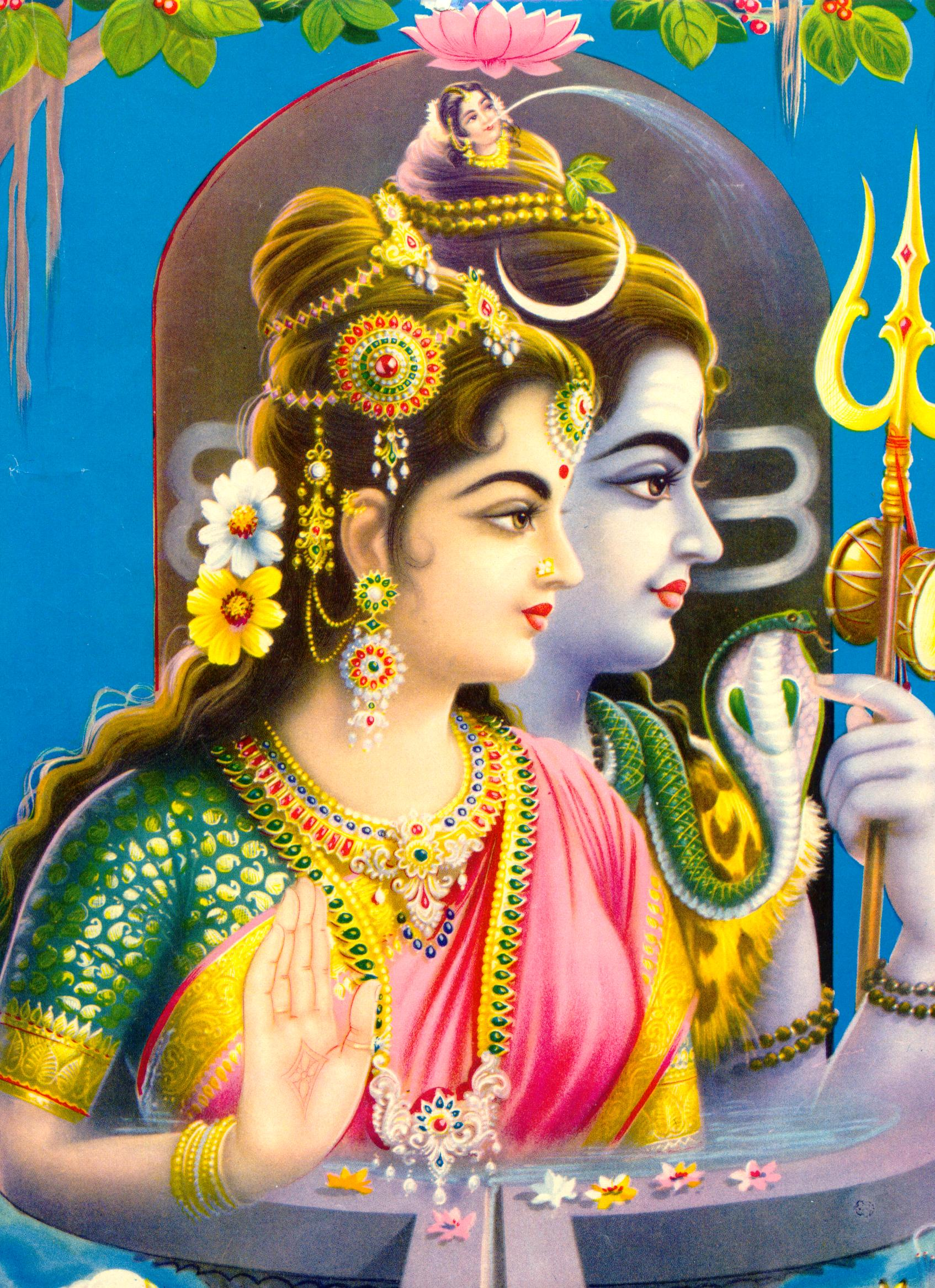 Parvati | Leaves of Wisdom Falling
