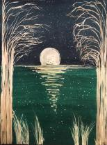 Full Moon over Water - lg